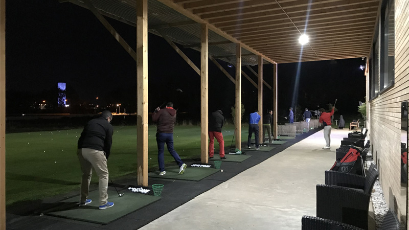 Lux Golf Center by night
