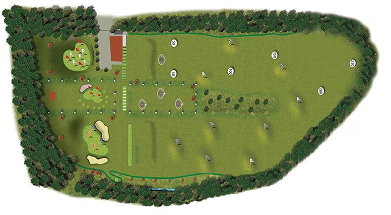 plan général Lux Golf Center